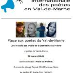 lecture Patrice Cazelles  21 mars à Ivry/Seine  18h30 Biennale Internationale des Poètes - Entrée libre